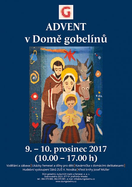Advent v domě gobelínů
