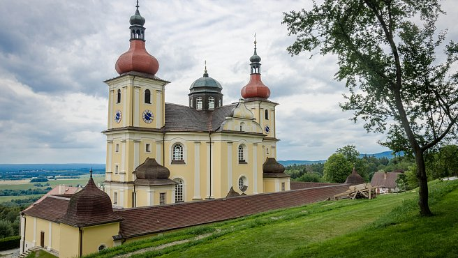 Pilgrimage Church of Our Lady Comforter in Dobrá Voda