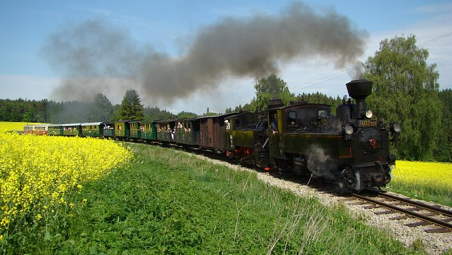 Narrow-gauge Railways in the Jindřichův Hradec Region