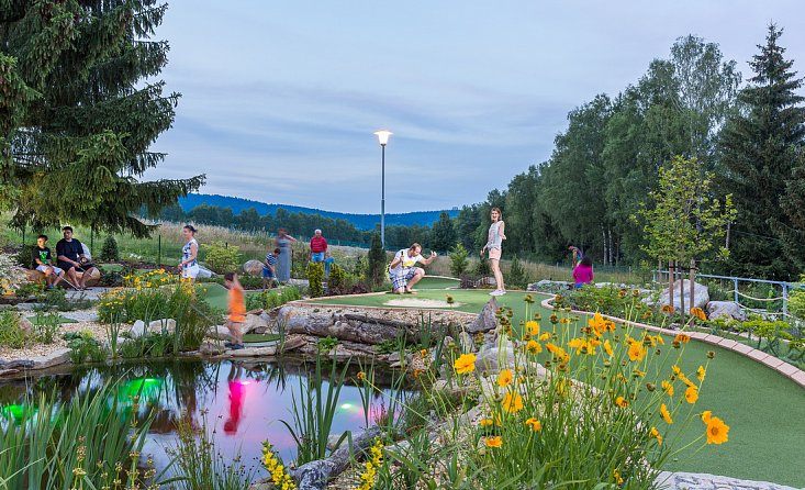 Funspot Lipno - Adventure Minigolf