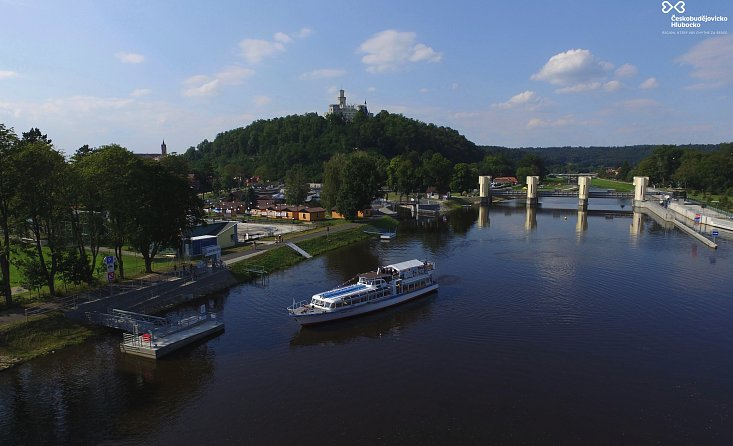 The trail of the Vltava river