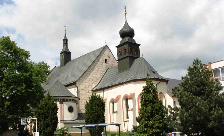 Franciscan Monastery with Church of St. Catherine in JH