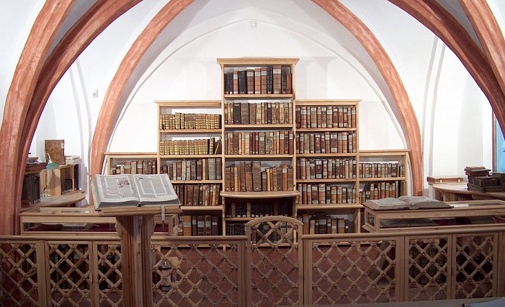 The Research Library of South Bohemia in České Budějovice