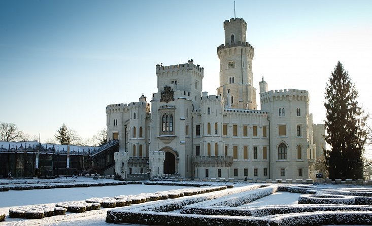 The state castle Hluboka nad Vltavou