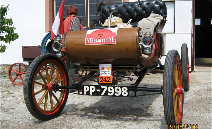 Museum historical vehicles and old agricultural engineering
