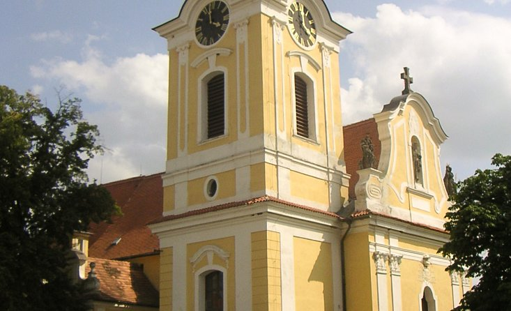Church of St. James in Týn nad Vltavou